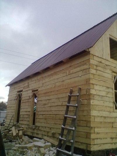 Строим дома, бани, гаражи - main